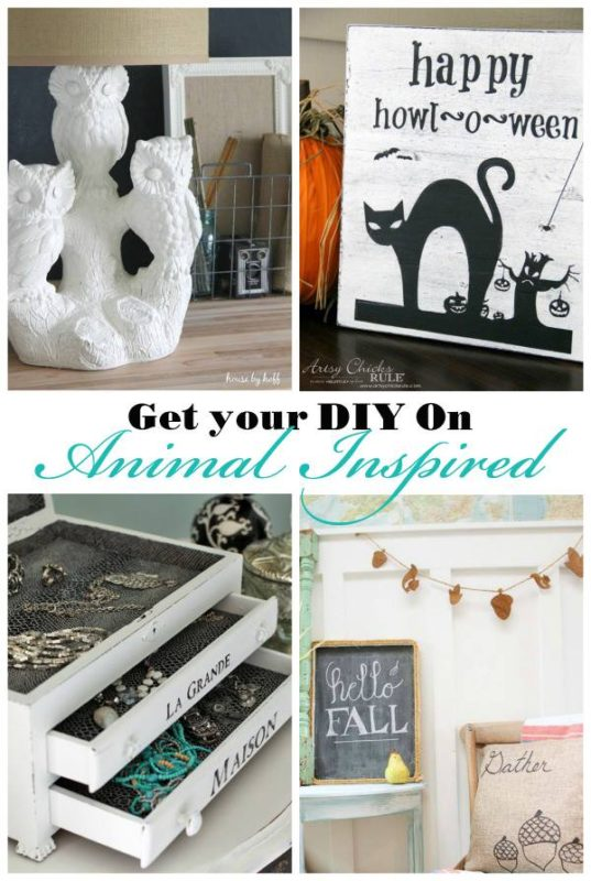 Animal Inspired Projects - artsychicksrule.com