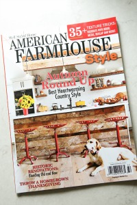 As Seen in American Farmhouse Style