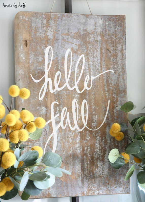 DIY Sign for Fall 3