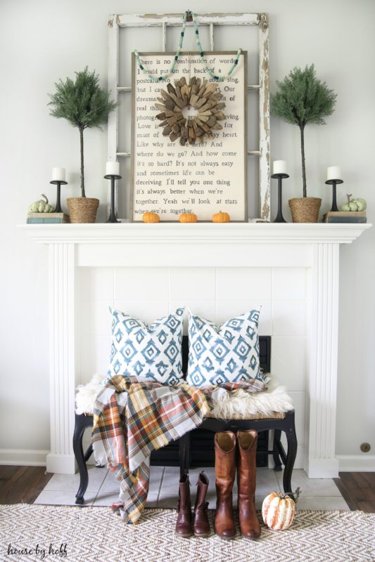 Fall Home Tour via House by Hoff