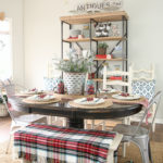 Holiday Home Tour  Part II:  The Kitchen and Dining Room