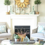 Seasonal Simplicity: Spring Living Room