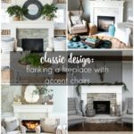 Classic Design: Flanking a Fireplace with Accent Chairs