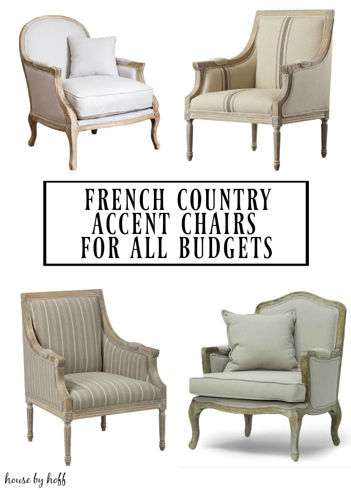 French Country Accent Chairs For All Budgets House By Hoff