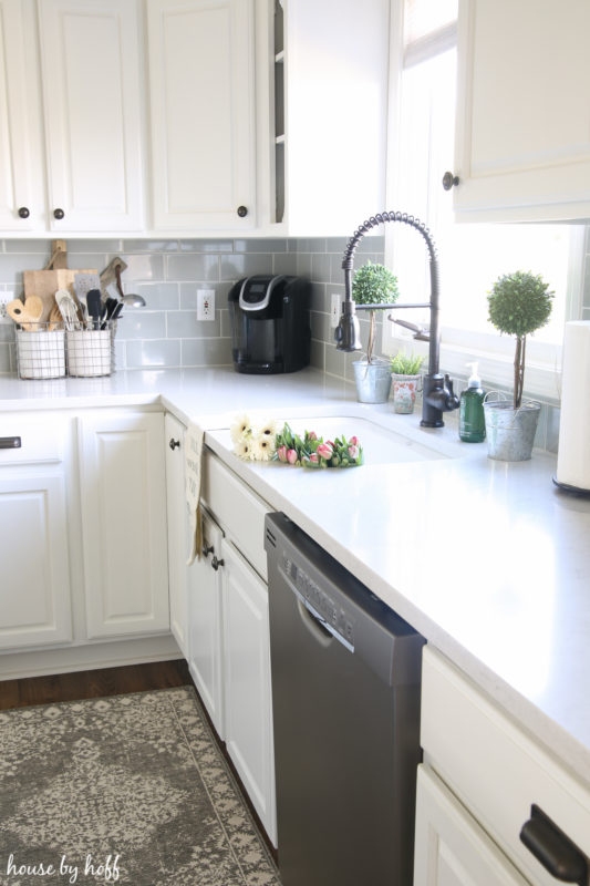 Spring Kitchen via House by Hoff