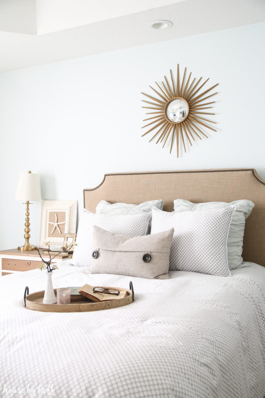 Spring Bedroom via House by Hoff
