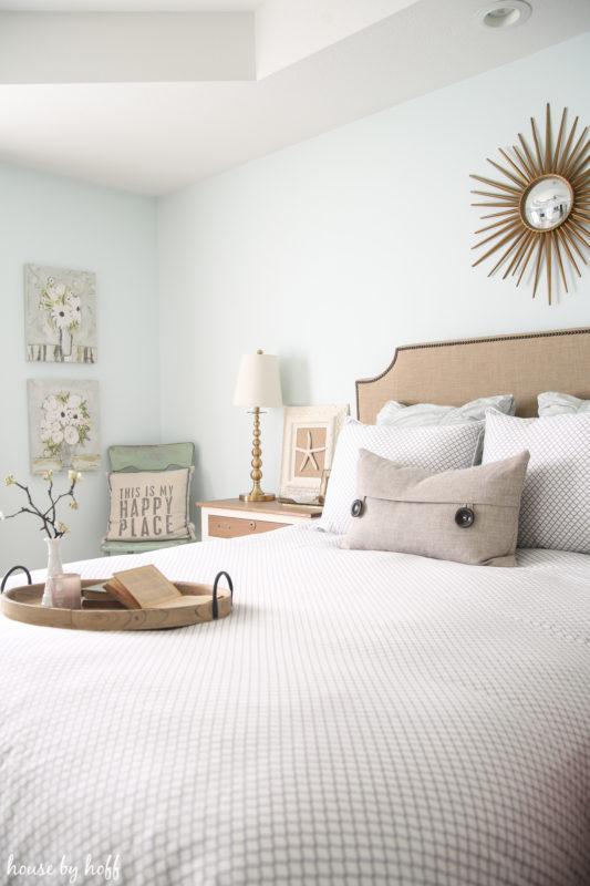 Spring Bedroom via House by Hoff