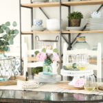 Simply Summer Home Tour: Summer Dining Room
