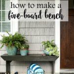DIY Five-Board Bench