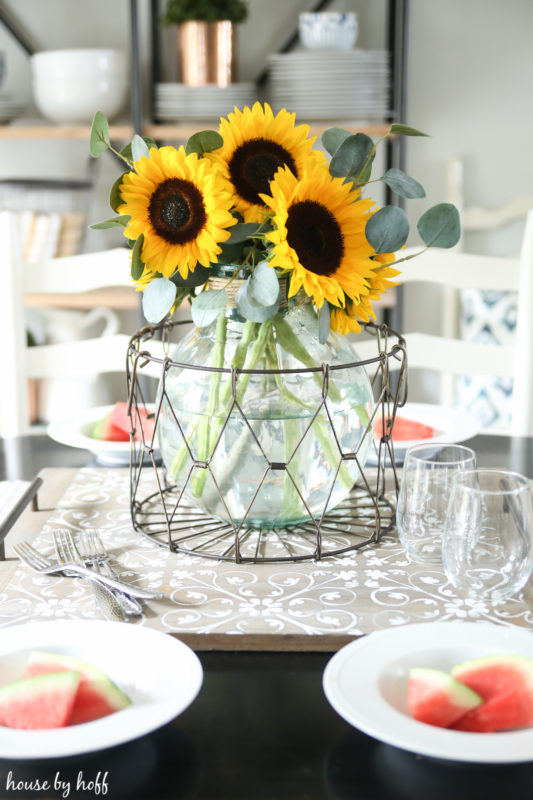 Late Summer Tablescape