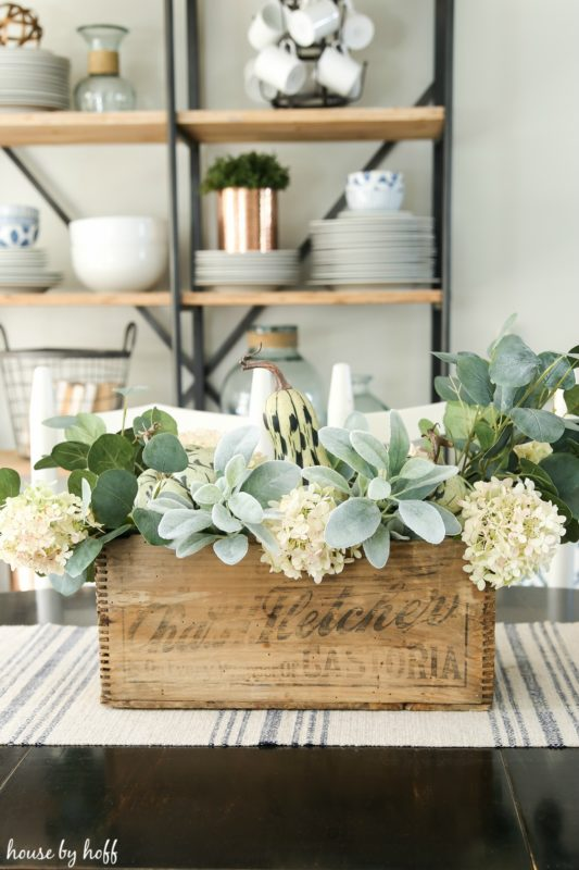 DIY Fall Centerpiece via House by Hoff