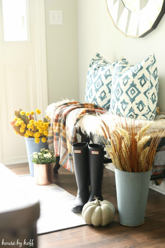 Fall Entryway via House by Hoff