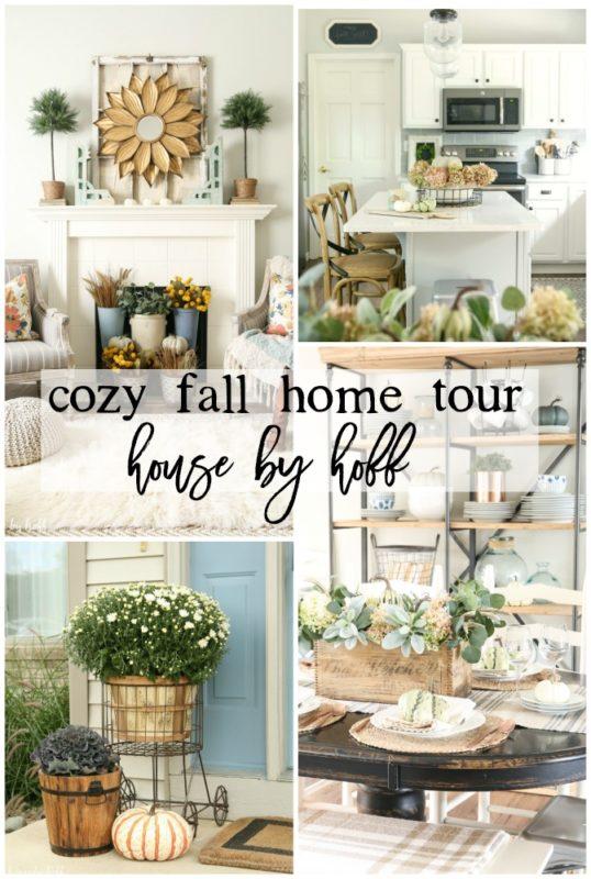 Home Tours cozy fall home tour - househoff