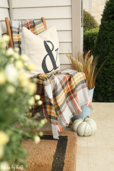 How to Decorate Your Small Front Porch for Fall