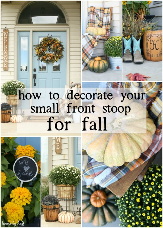 I Decided To Open The Vaults Today And Share Some Inspiration For How Decorate Your Small Front Porch Fall Affiliate Links Are Used In This Post