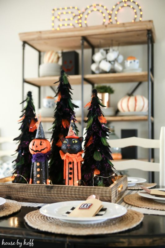 Halloween Tablescape via House by Hoff