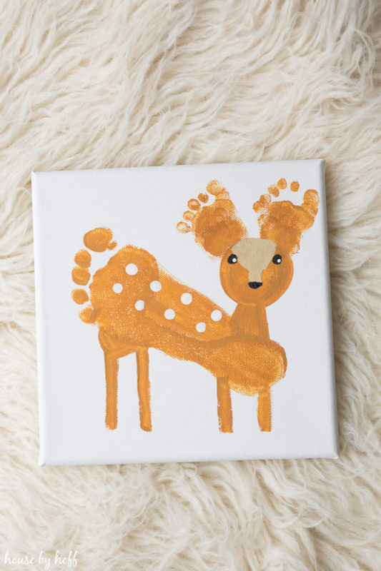 Super-Sweet Deer Feet via House by Hoff
