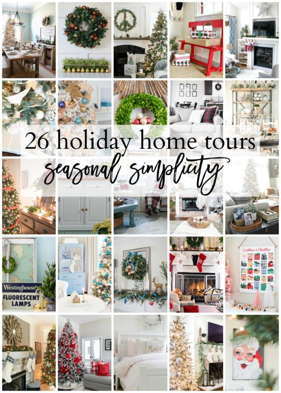 20 Holiday Home Tours poster.