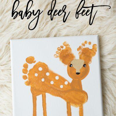 Super-Sweet Deer Feet