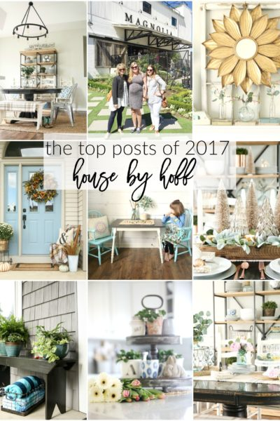 House by Hoff The Top Posts of 2017