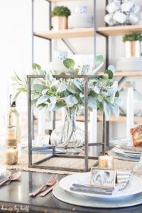 How to Create a Beautiful Winter Centerpiece