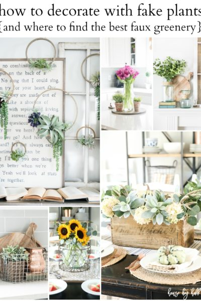How to Decorate With Fake Plants (And Where to Find the Best Faux Greenery)