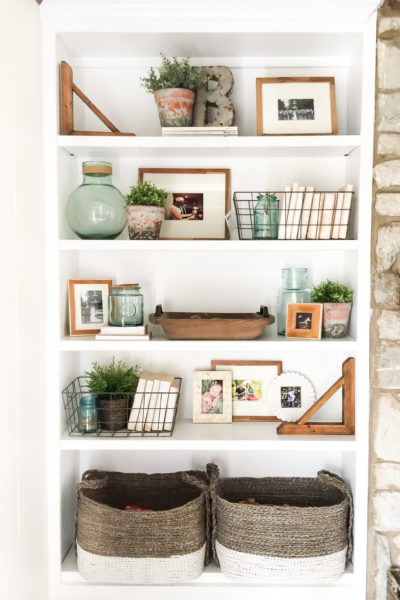 How to Style Open Shelves: 3 Tips for an Uncluttered Look
