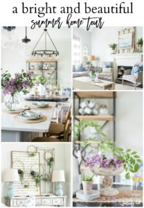 A Bright and Beautiful Summer Home Tour