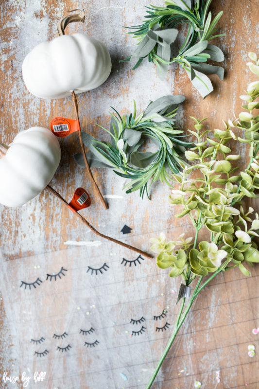 DIY Pumpkin Plant Cute Creatures via House by Hoff