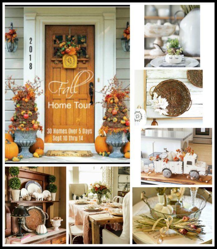 Fall home tour poster.
