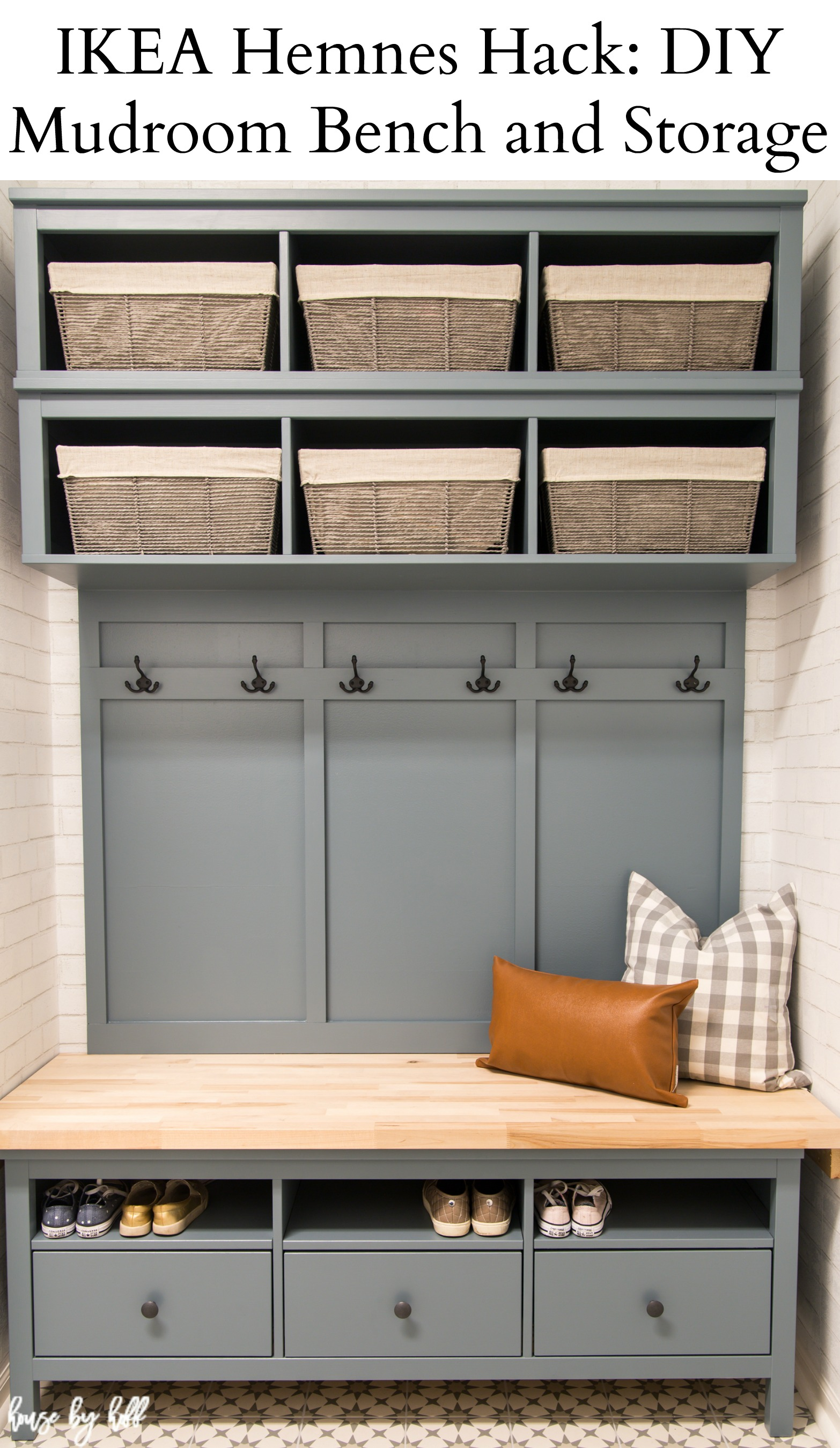 Tremendous Ikea Hemnes Hack Diy Mudroom Bench And Storage House By Hoff Cjindustries Chair Design For Home Cjindustriesco