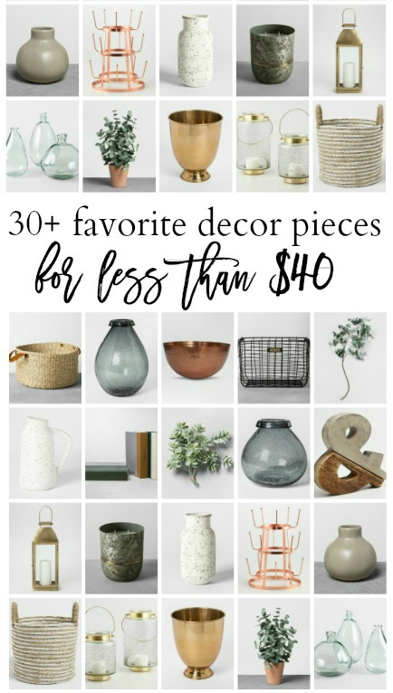 30 favorite decor pieces under $40