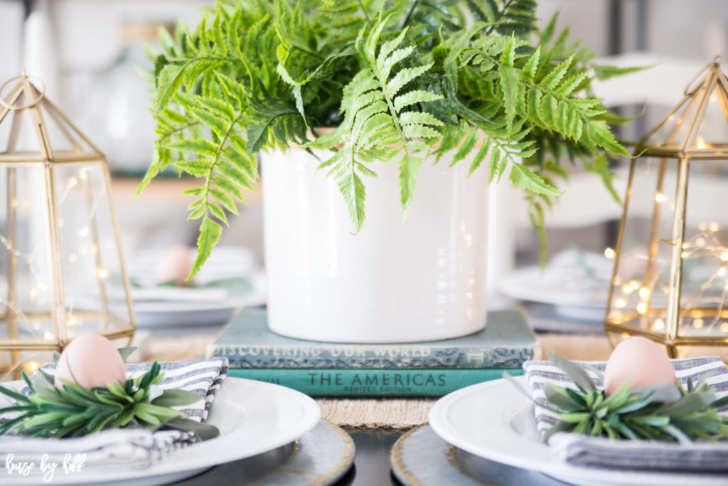 Bright Spring Dining Room and Tablescape