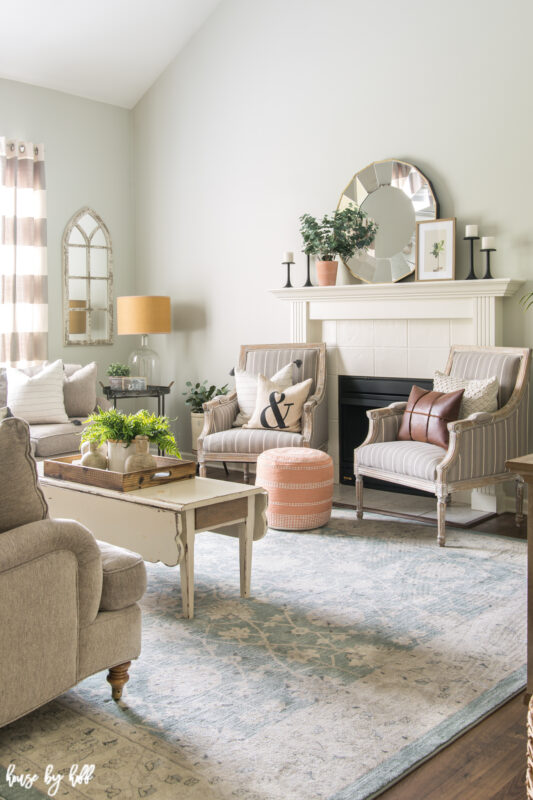 Summer Living Room Decor - House by Hoff