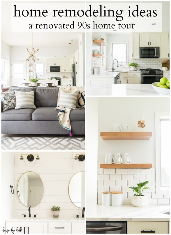 Home remodeling ideas poster.