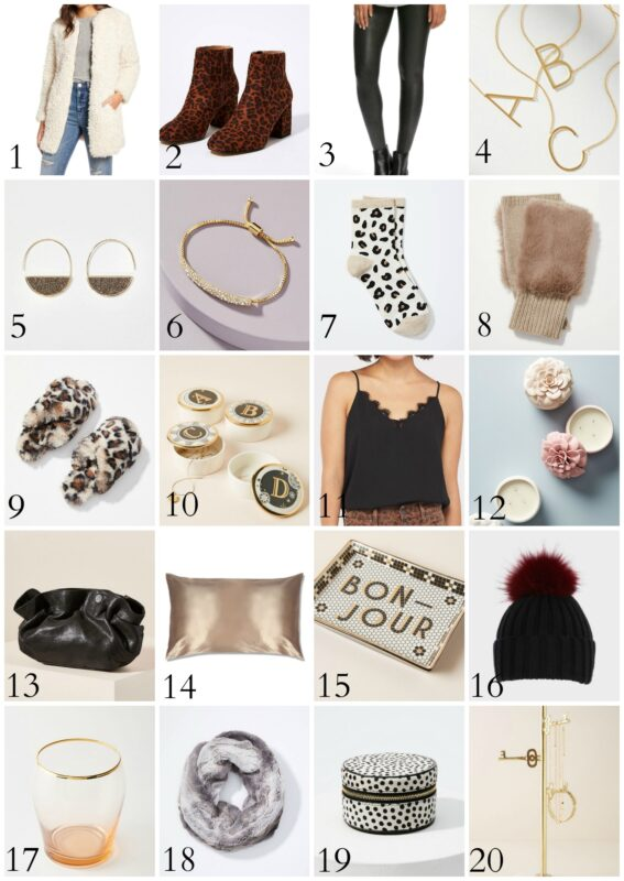 Gifts for fashionistas.