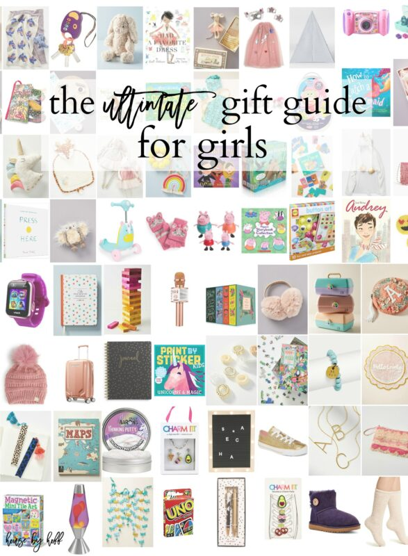 The Ultimate Gift Guide For Girls poster.