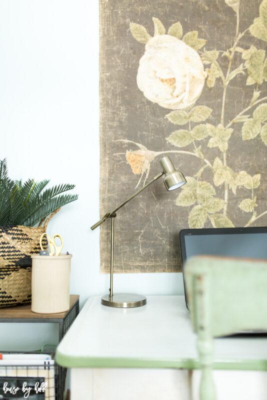 Large scale floral art decorative paper