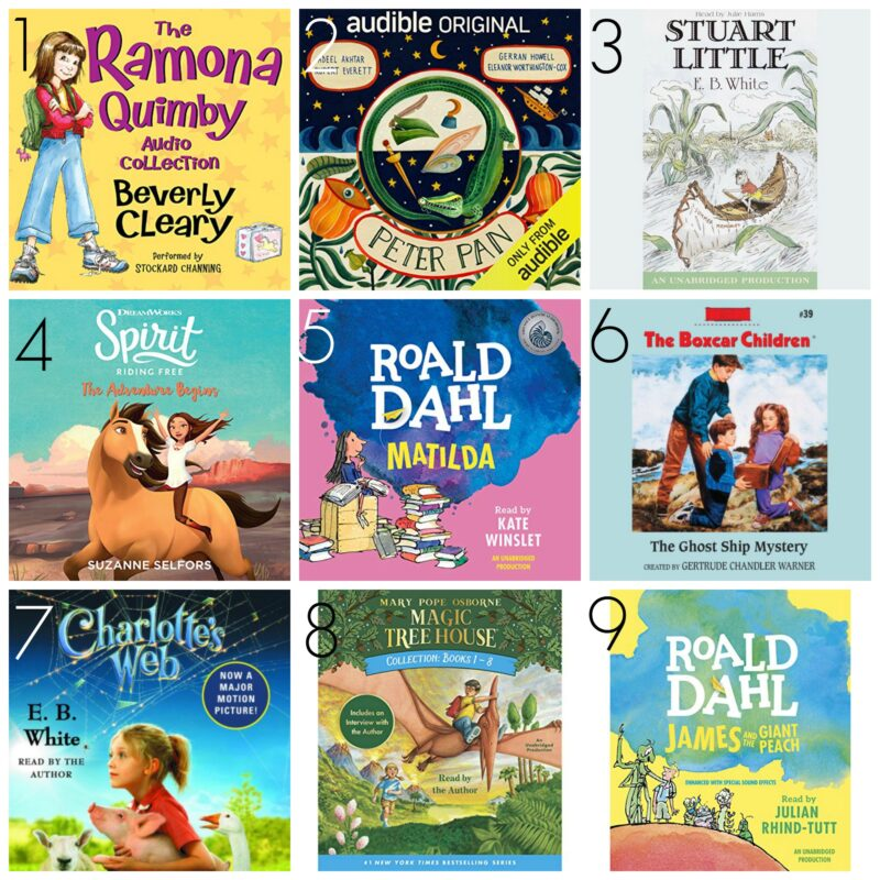 The best audible books for children