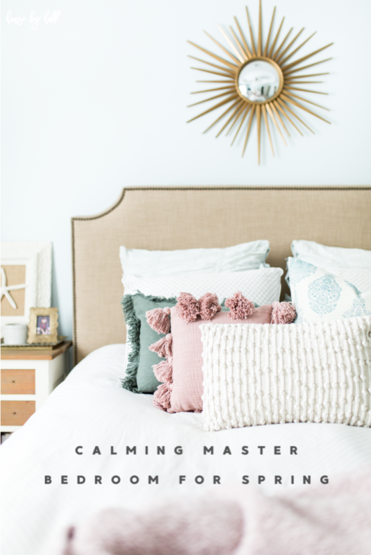 Calming Master Bedroom for Spring