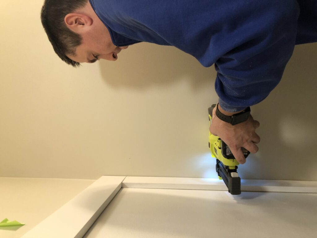 Installing a DIY Board and Batten Wall