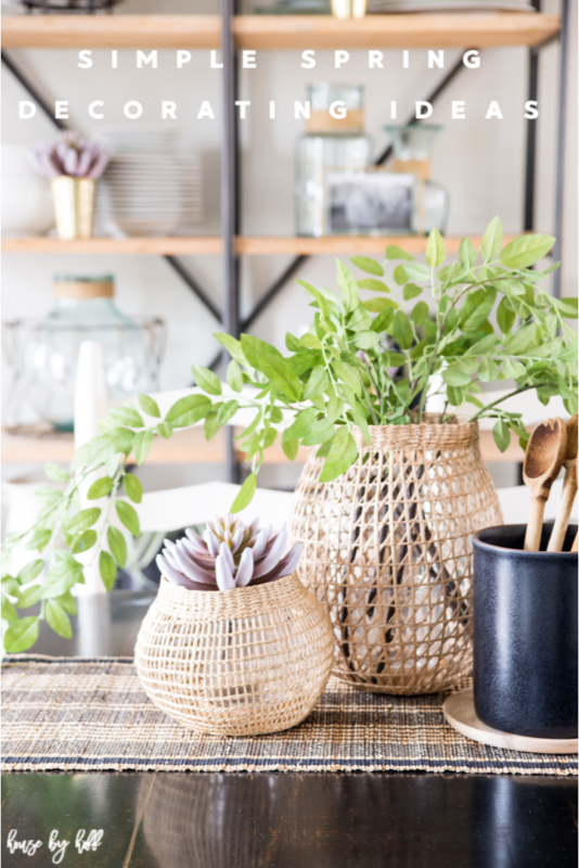 Simple Spring Decorating Ideas