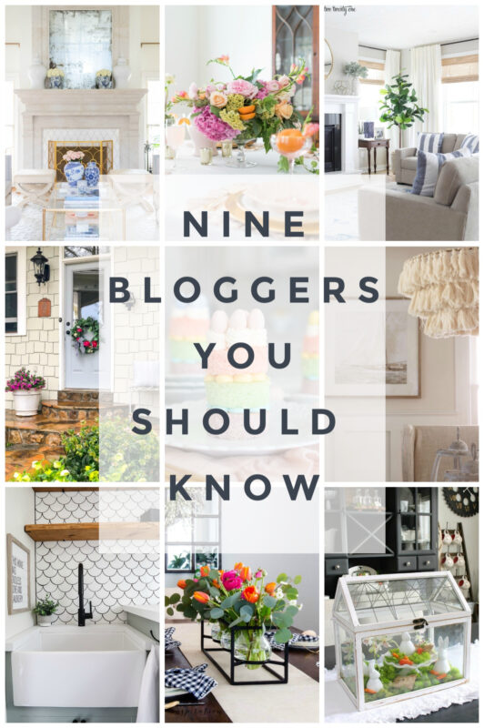 Nine Bloggers You Should Know