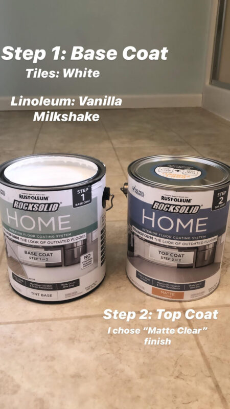 Rustoleum Rock Solid Home Floor Paint